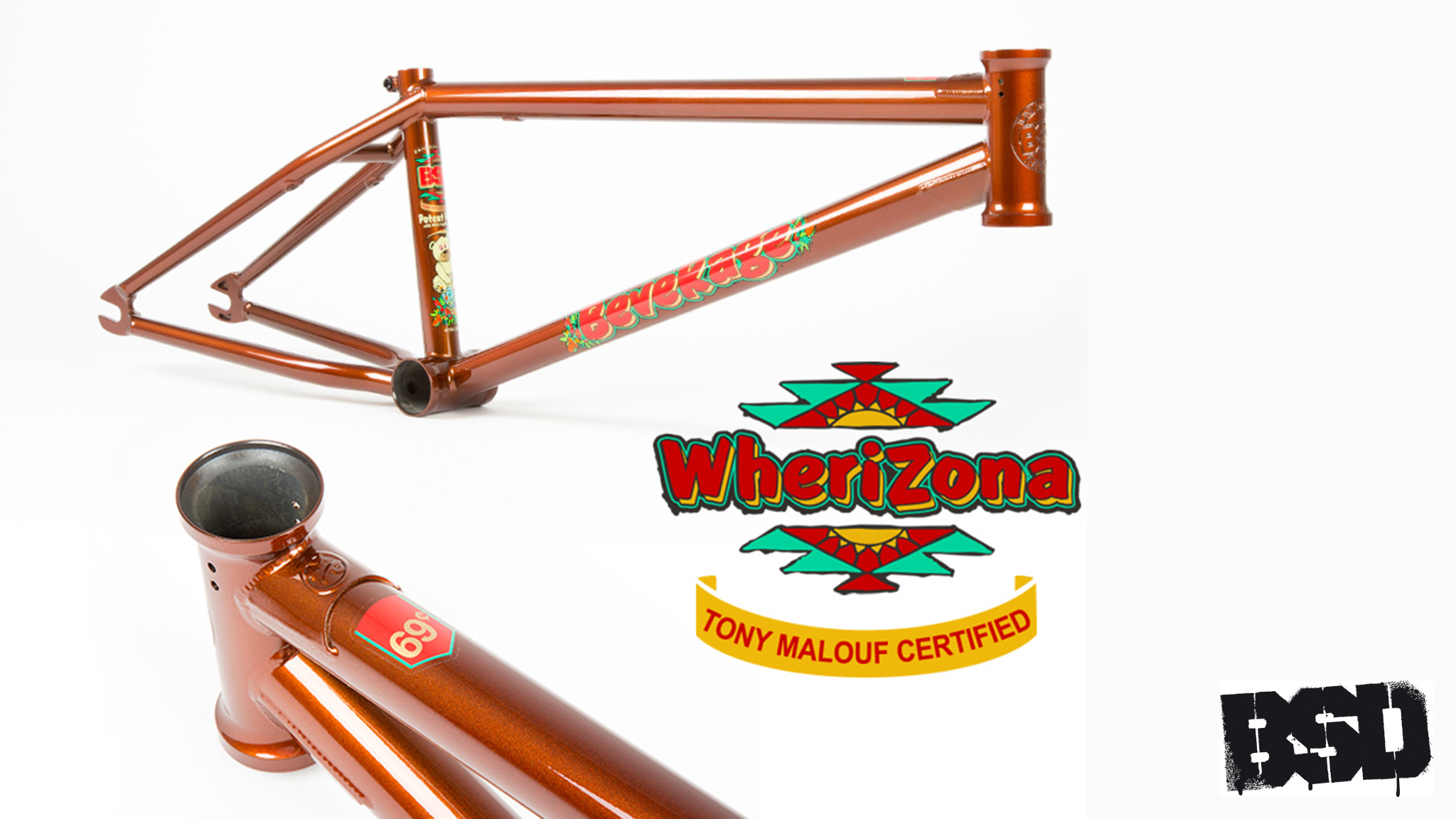 BSD Whereizona Beverage frame