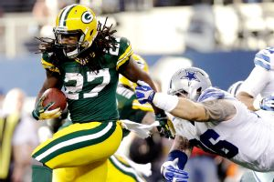 Green Bay's Eddie Lacy