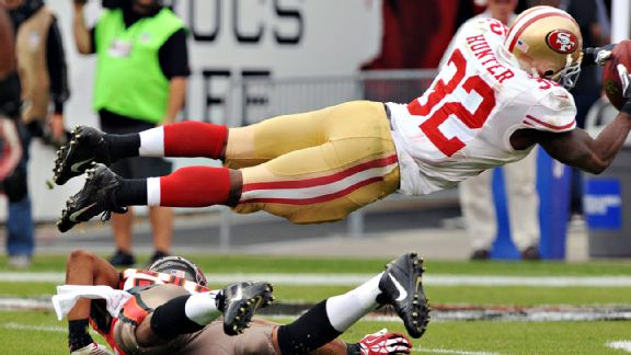 49ers avoid the trap and cruise again