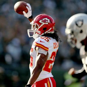 Kansas City's Jamaal Charles