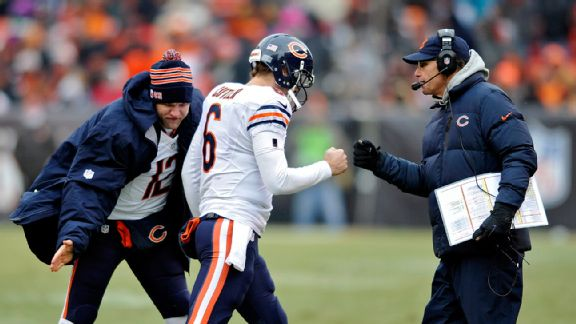 Josh McCown and Jay Cutler