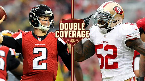 Double Coverage: Falcons at 49ers