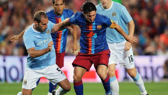 Manchester City - Barcellona, una sfida galattica