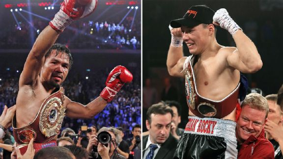 Manny Pacquiao and Ruslan Provodnikov