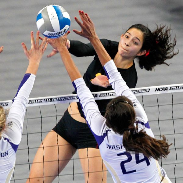 Twins Find Fort On Byu Volleyball Court