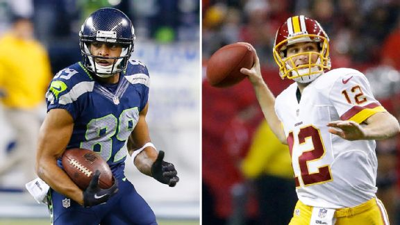 Doug Baldwin and Kirk Cousins