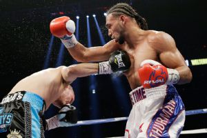 Keith Thurman and Jesus Soto Karass