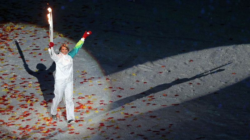 After striking gold in Nagano and Salt Lake City, Catriona Le May Doan was selected to carry the torch at the 2010 Vancouver Games.