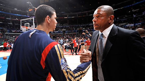 Austin Rivers and Doc Rivers