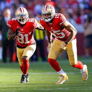 Anquan Boldin and Michael Crabtree