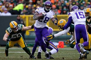 Adrian Peterson and Greg Jennings