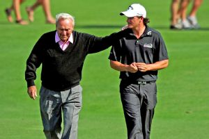 Arnold Palmer and Sam Saunders
