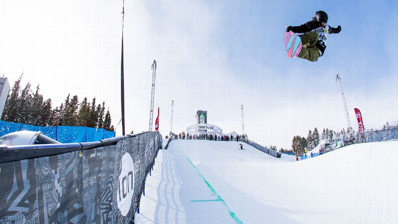 Kelly Clark placed second at the Dew Tour, but was the top American and leads Olympic qualifying for the U.S. team.