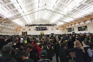 Oregon Indoor Tailgate