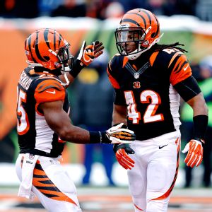 Cincinnati's BenJarvus Green-Ellis and Giovani Bernard