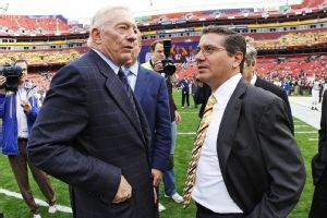 Jerry Jones, Dan Snyder