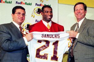 Deion Sanders, Dan Synder, Norv Turner