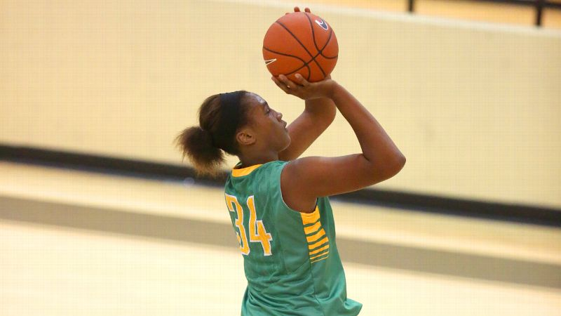 Freshman Ayanna Clark has been a big reason Long Beach Poly is 2-0 at the Nike Tournament of Champions heading into a Saturday showdown with No. 1 Mater Dei.