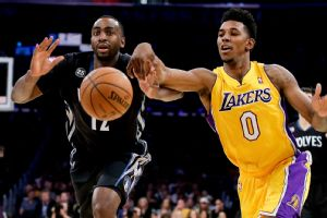 Nick Young, Luc Richard Mbah a Moute