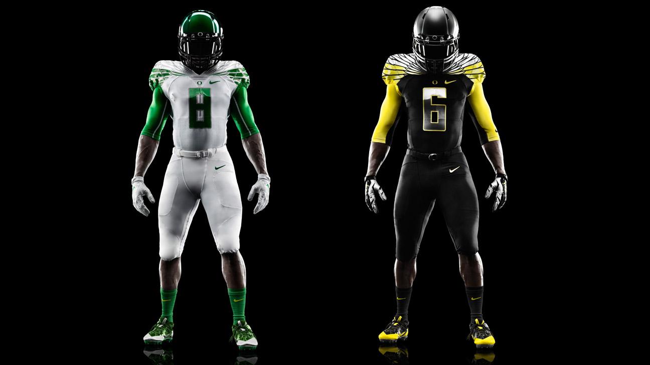 Oregon Ducks Debut New Uniform Alamo Bowl Nike Pac 12
