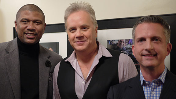 Jalen Rose, Tim Robbins, Bill Simmons