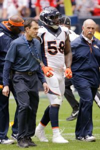 Broncos' Miller to have knee surgery Wed.