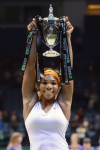 Even though she didn't capture Wimbledon, Serena Williams was tennis' clear No. 1.