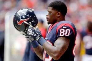 Andre Johnson visto en instalaciones de Texans