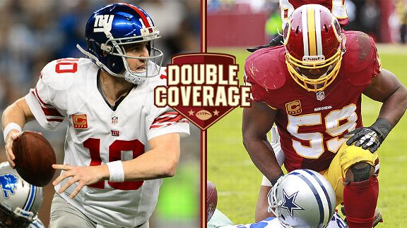 Double Coverage: Redskins at Giants