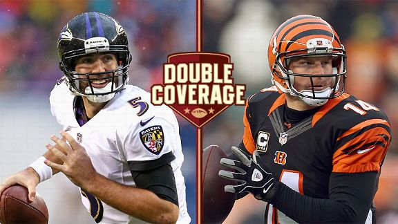 Joe Flacco and Andy Dalton