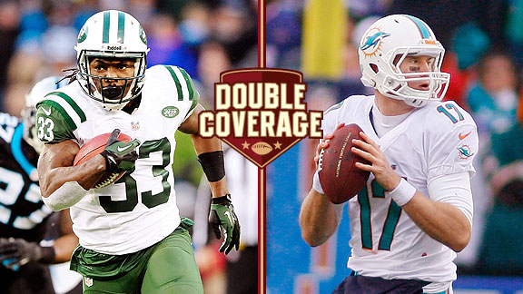 Double Coverage: Jets at Dolphins