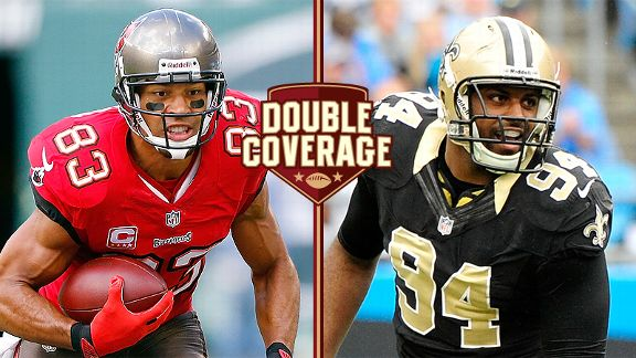 Vincent Jackson and Cameron Jordan