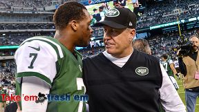 Geno Smith and Rex Ryan