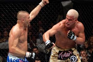 Chuck Liddell and Tito Ortiz
