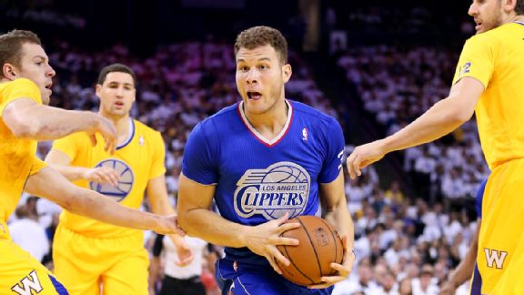 Blake Griffin, David Lee, Klay Thompson