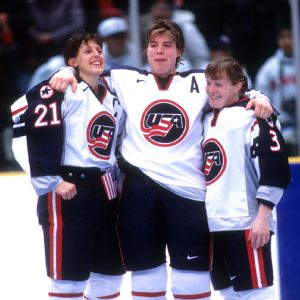 Cammi Granato, Karyn Bye and Lisa Brown-Miller helped lead the U.S. to the gold medal in the first Olympics for women's hockey, in 1998. The Americans haven't won the event since.