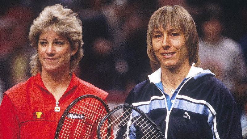 Over a 15-year span, tennis legends Chris Evert and Martina Navratilova squared off 80 times, including 60 matches with a tournament title on the line. Navratilova owns a 43-37 career record over her rival and longtime friend and a 10-4 mark in Grand Slam finals. The rivalry was so revered, it was even given the a href=https://www.facebook.com/video/video.php?v=1289232115417 target=_blank Saturday Night Live/a treatment when Evert retired from tennis in 1989. (Photo: Focus on Sport/Getty Images)