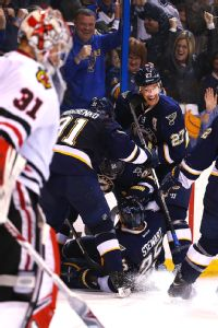 Blackhawks vs. Blues