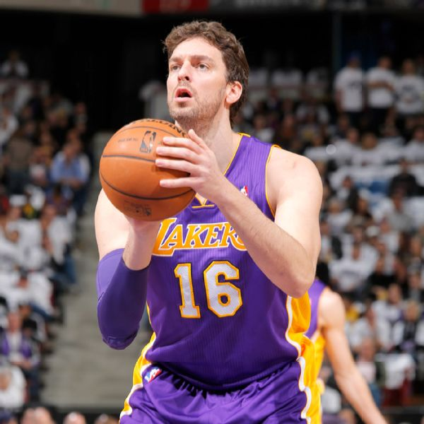 Los Angeles Lakers' Pau Gasol To Return From Respiratory