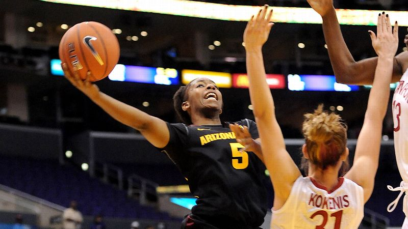 Charli Turner Thorne's program struggled last season, her first one back after a one-year sabbatical. The Sun Devils missed the postseason and ended with their worst Pac-12 finish in more than a decade. But with guard Deja Mann (pictured) back on the floor and an offense as good as the defense, Arizona State is back in the national rankings for the first time since 2009. -- Michelle Smith (Photo: Jayne Kamin-Oncea/USA TODAY Sports)