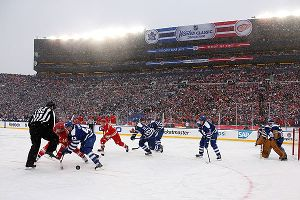 The NHL won't get the Guinness World Record for attendance because ticket takers stopped scanning bar codes at the Jan. 1 Winter Classic.