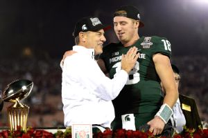 Mark Dantonio and Connor Cook