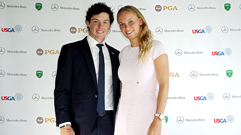 The frequent social-media users have been sharing details of their relationship ever since they started dating in 2011, drawing both support and scrutiny from fans. Despite a breakup rumor in the fall, the former top-ranked golfer proposed to the former top-ranked tennis player in Sydney on New Year's Eve and, true to form, a slew of photos and tweets of the celebration were soon posted online. While details of the wedding have remained mum thus far, we're sure that won't last with these two. (Photo: Andrew Redington/Getty Images)