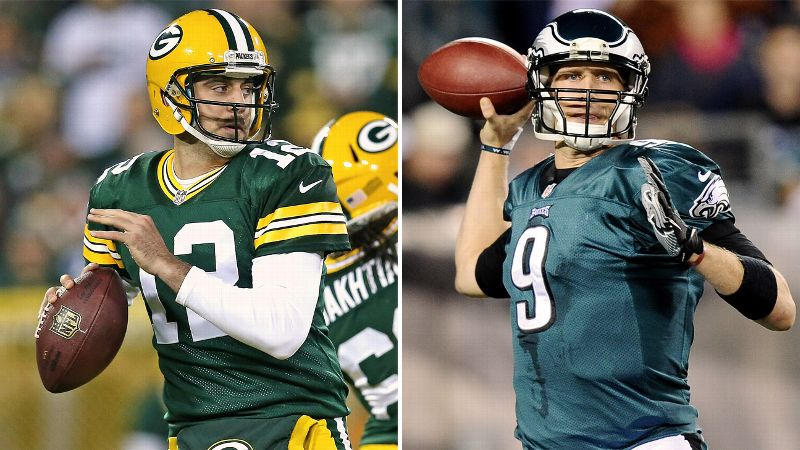 Aaron Rodgers, Nick Foles