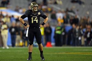 Quarterback Bryce Petty #14 of the Baylor Bears