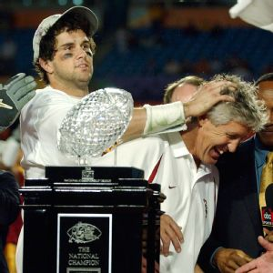 Matt Leinart, Pete Carroll