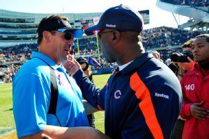 Lovie Smith, Ron Rivera
