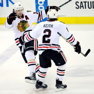 Patrick Sharp, Duncan Keith