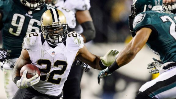 Saints' surprises: Run game and road win