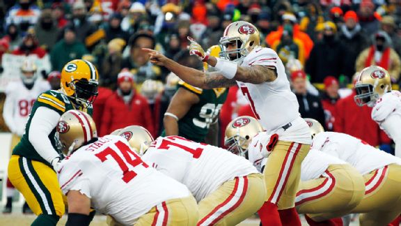 49ers edge Packers late in a game of missed opportunities